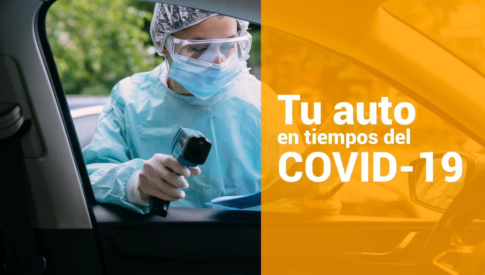 Desinfecta tu auto
