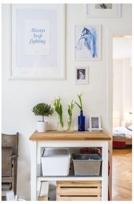 Organiza los espacios y almacena correctamente