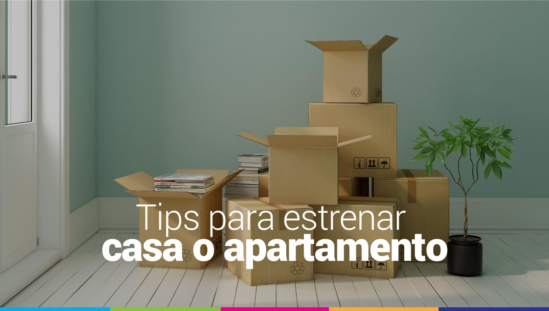 tips para estrenar apartamento