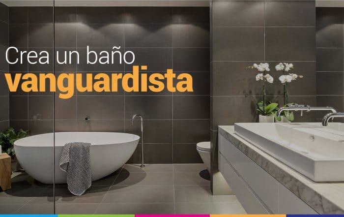 baño vanguardista