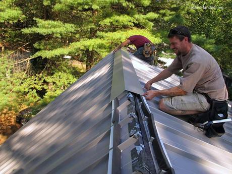 Mantenimiento de techos metálicos